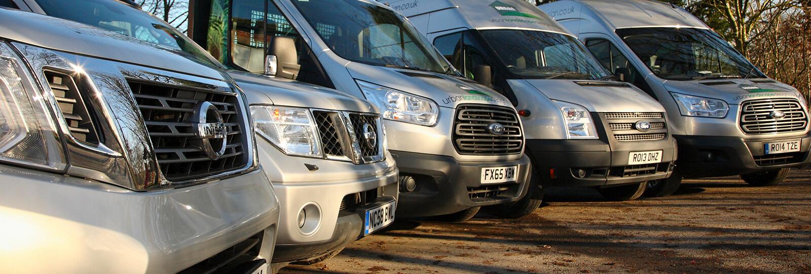 Fleet of Vans for your business