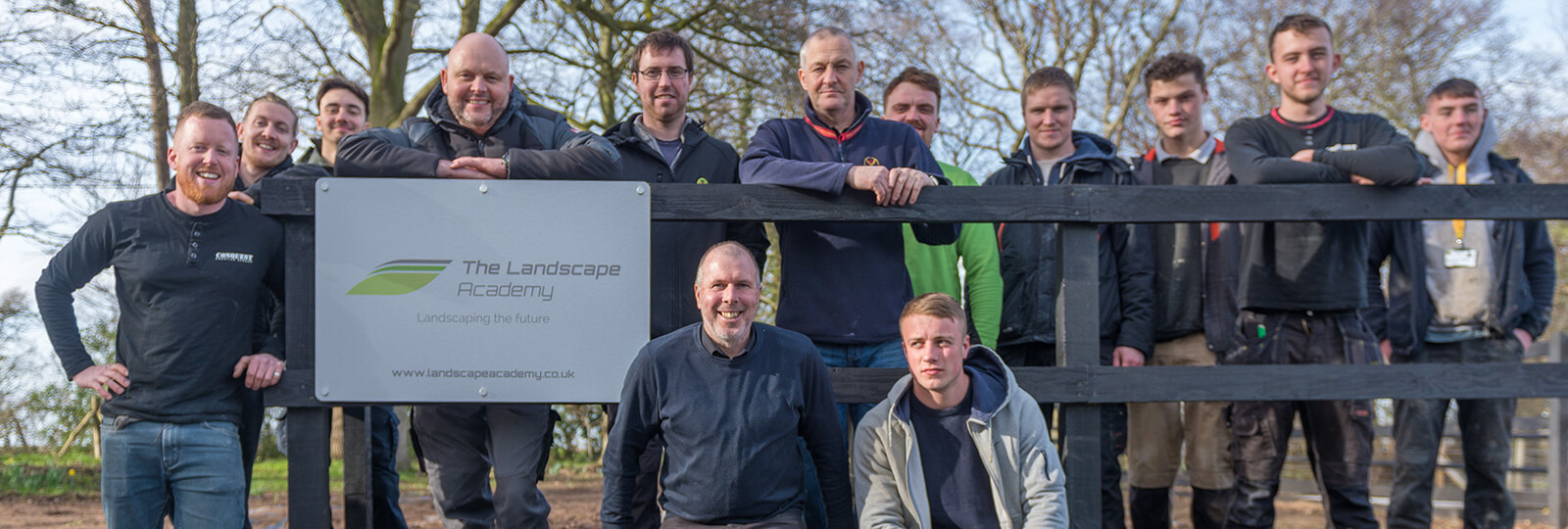 Landscape Academy team shot in colour
