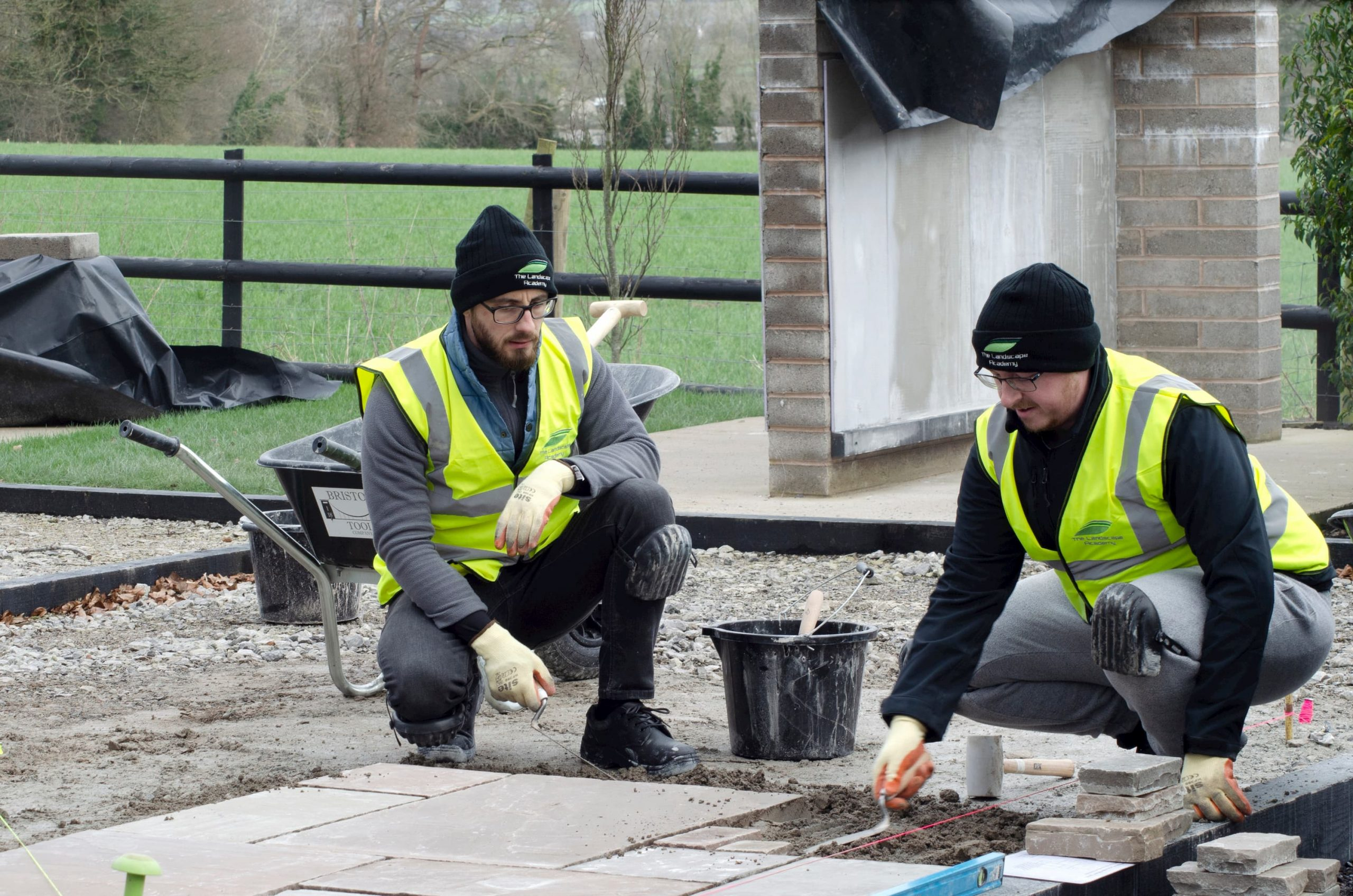 traning at The Landscape Academy with London Stone